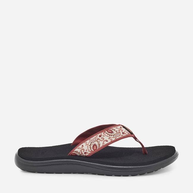 Teva Womens Voya Flip Open Back Slippers